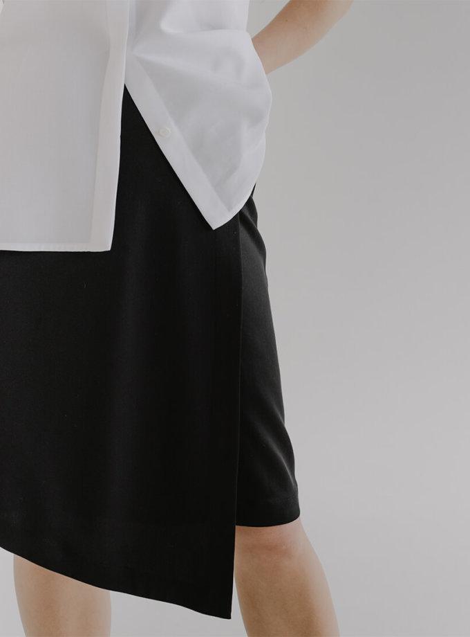 Асиметрична спідниця HLI на запах FRM_XIM_02А_B, фото 1 - в интернет магазине KAPSULA