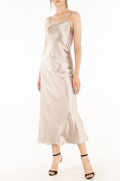 Платье c бретелями-цепями Violet WNDR_fw2021_sdclil_15, фото 4 - в интеренет магазине KAPSULA