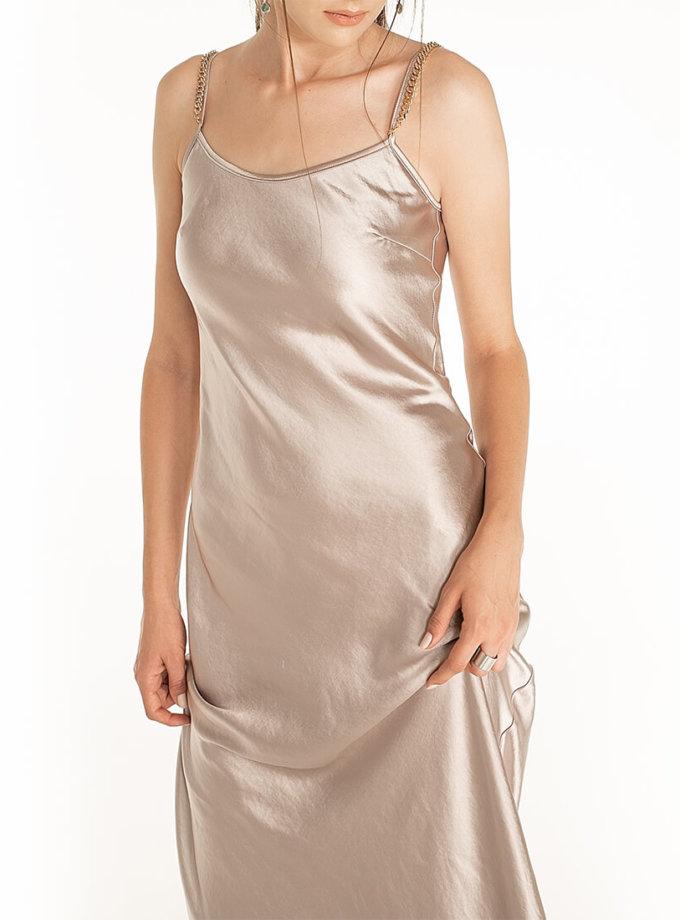 Платье c бретелями-цепями Violet WNDR_fw2021_sdclil_15, фото 1 - в интернет магазине KAPSULA