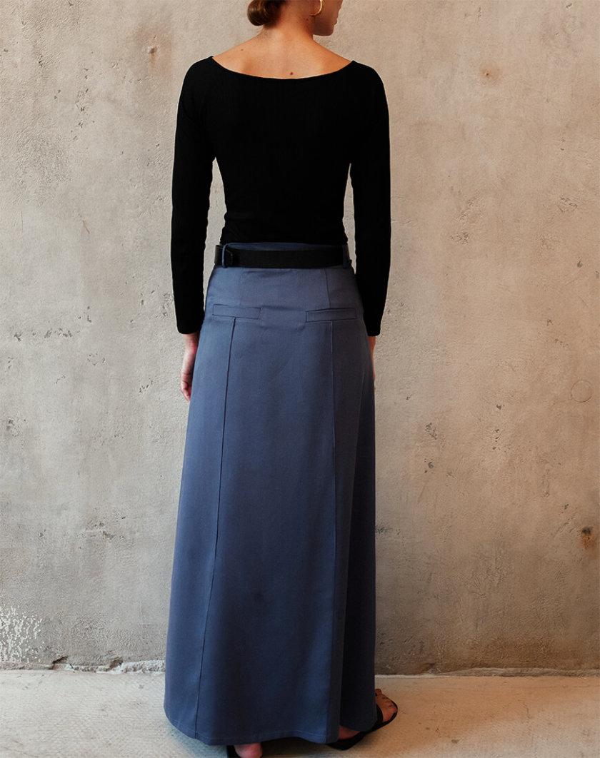 Юбка макси А-силуэта AD_090720, фото 1 - в интернет магазине KAPSULA