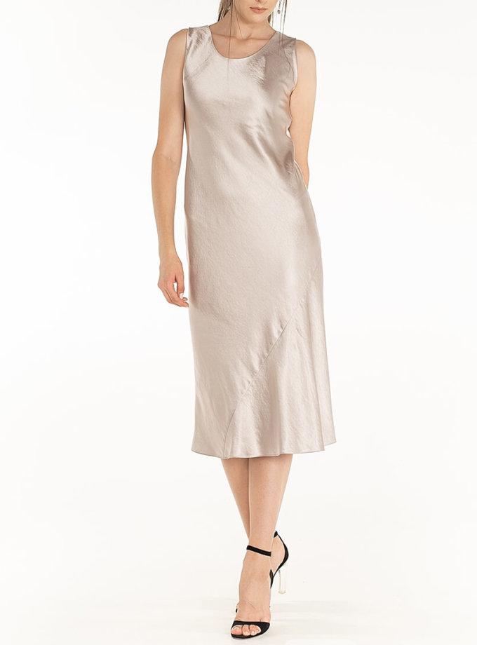 Сатиновое платье Violet WNDR_fw2021_sdlil_14, фото 1 - в интернет магазине KAPSULA