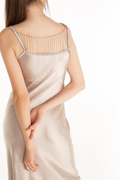 Платье cо съемный декором на спине Violet WNDR_fw2021_sdrlil_15, фото 5 - в интеренет магазине KAPSULA