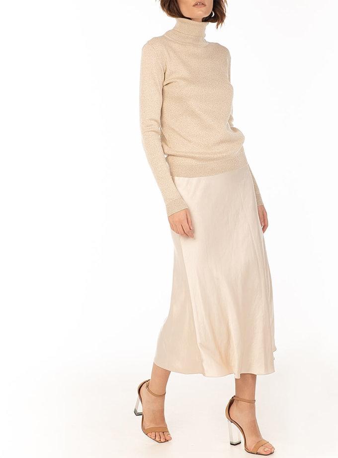 Сатиновая юбка Beige WNDR_fw2021_ssbez_13, фото 1 - в интеренет магазине KAPSULA