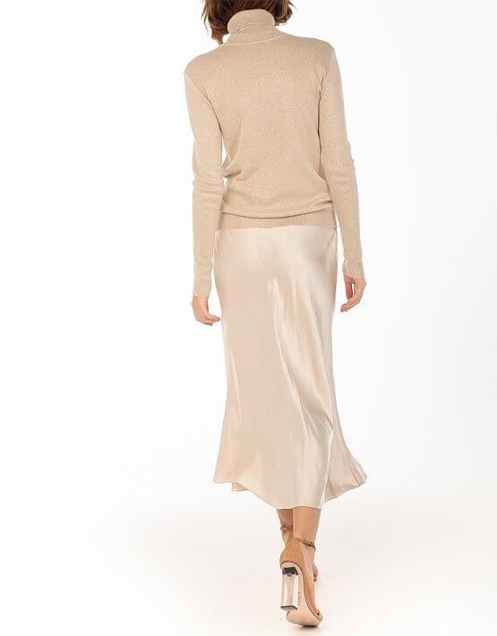 Сатиновая юбка Beige WNDR_fw2021_ssbez_13, фото 6 - в интеренет магазине KAPSULA