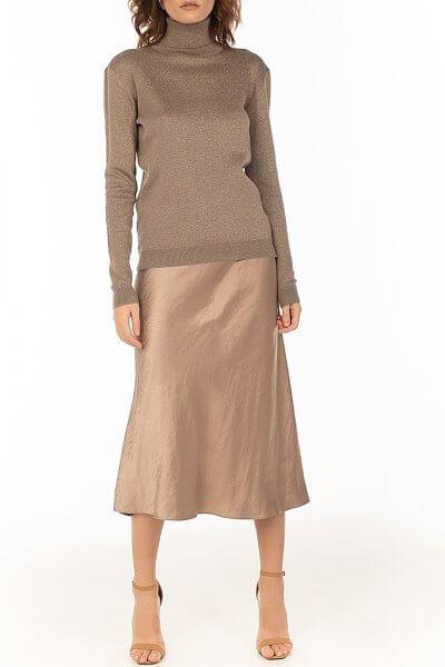 Сатиновая юбка Сappuccino WNDR_fw2021_sscap_13, фото 1 - в интеренет магазине KAPSULA