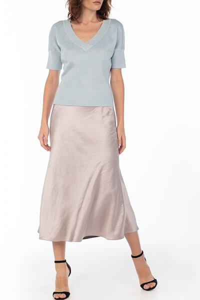Сатиновая юбка Violet WNDR_fw2021_sslil_13, фото 1 - в интеренет магазине KAPSULA