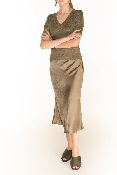 Сатиновая юбка WNDR_fw2021_ssol_13, фото 2 - в интеренет магазине KAPSULA