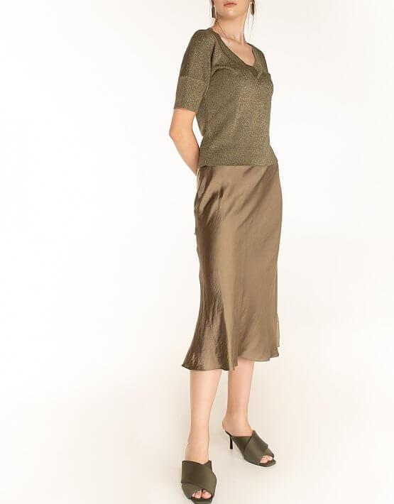 Сатиновая юбка Olive WNDR_fw2021_ssol_13, фото 6 - в интеренет магазине KAPSULA
