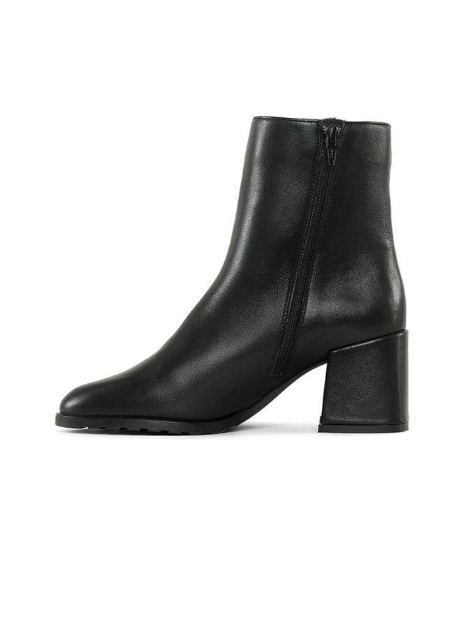 Кожаные ботинки на молнии MRSL_177603, фото 1 - в интеренет магазине KAPSULA