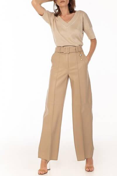 Широкие брюки из эко-кожи WNDR_fw2021_wtbez_08, фото 1 - в интеренет магазине KAPSULA