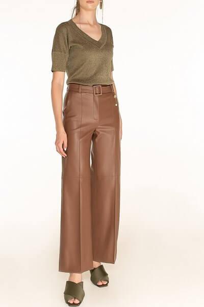 Широкие брюки из эко-кожи WNDR_fw2021_wtbr_08, фото 1 - в интеренет магазине KAPSULA