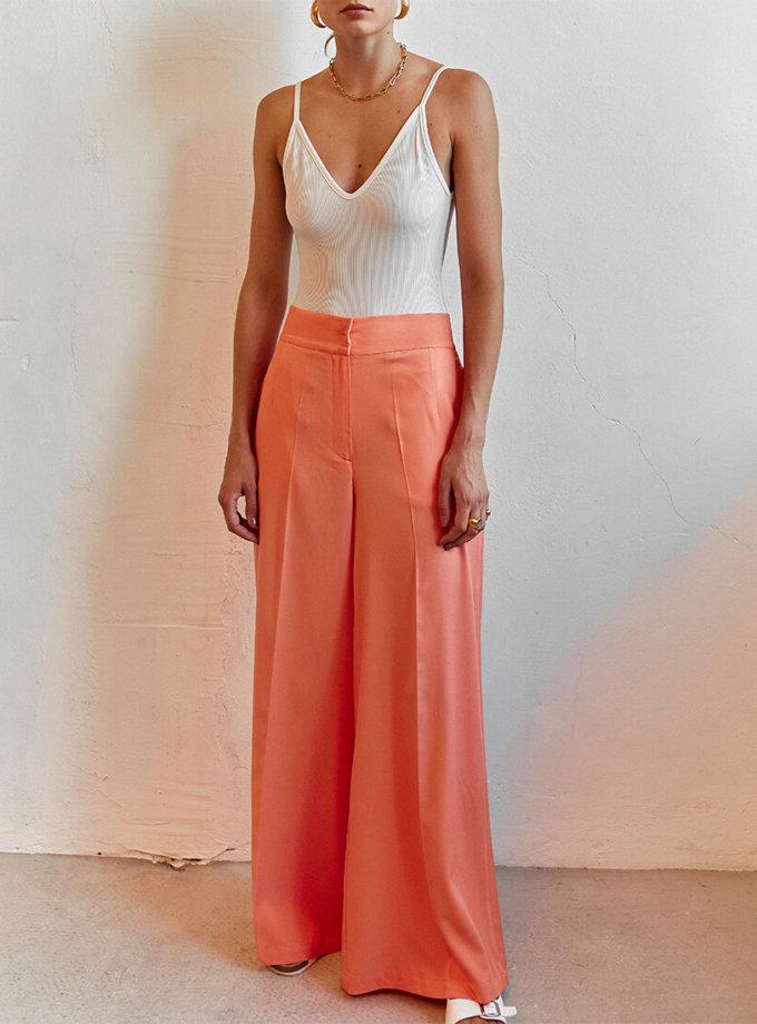 Легкие брюки клеш AD_050720, фото 1 - в интернет магазине KAPSULA