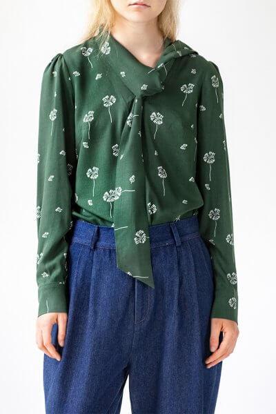 Хлопковая блуза Easy SNDR_FWE17, фото 5 - в интеренет магазине KAPSULA
