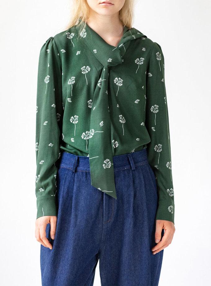 Хлопковая блуза Easy SNDR_FWE17, фото 1 - в интеренет магазине KAPSULA