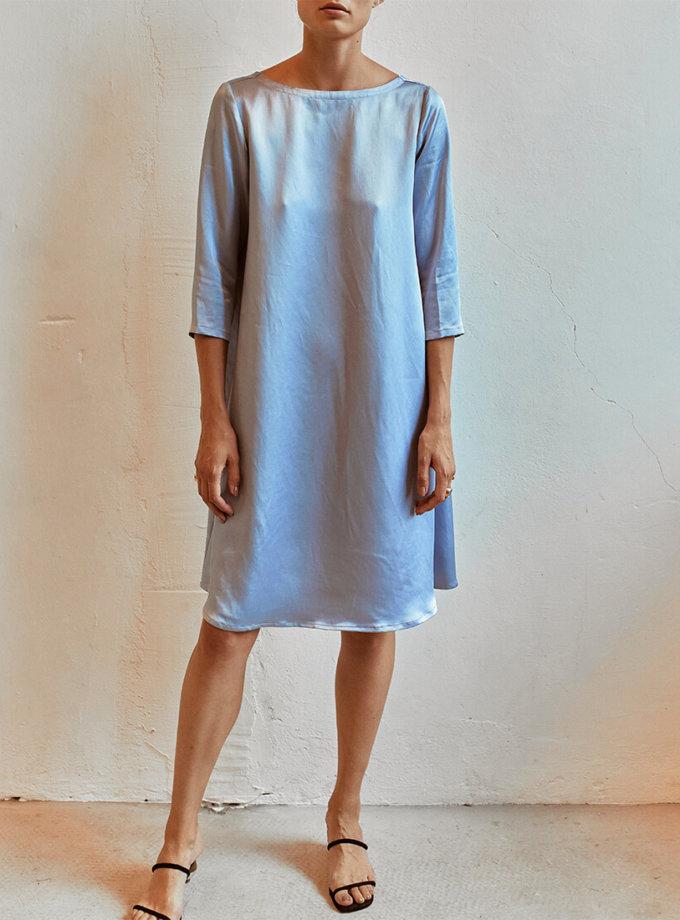 Платье с V-вырезом сзади AD_120720, фото 1 - в интернет магазине KAPSULA