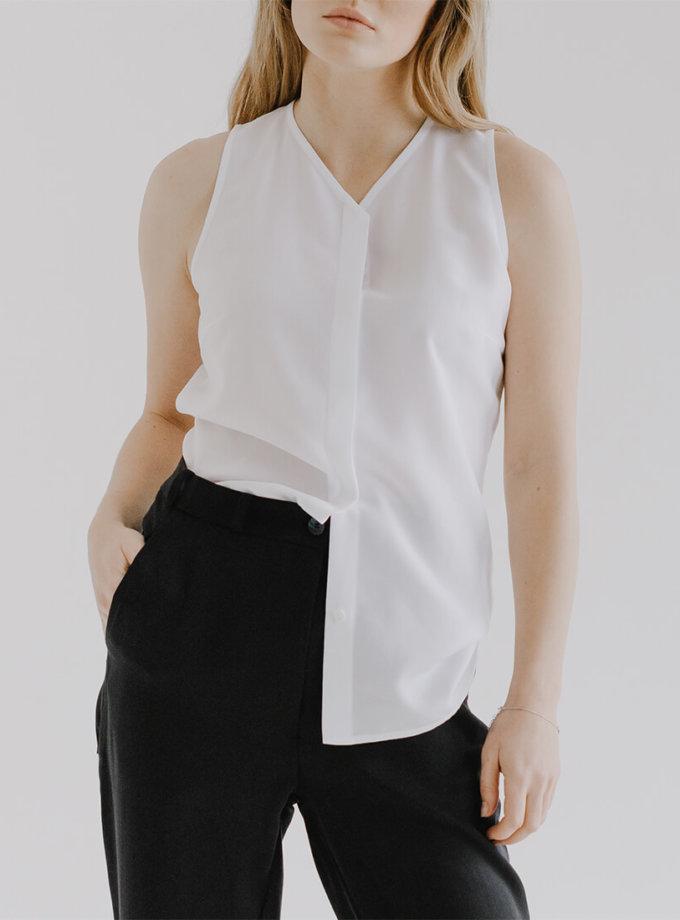 Блуза без рукавів DAWB FRM_XIM_03А_W, фото 1 - в интернет магазине KAPSULA