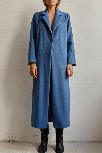 Пальто макси из шерсти AD_160720, фото 1 - в интеренет магазине KAPSULA