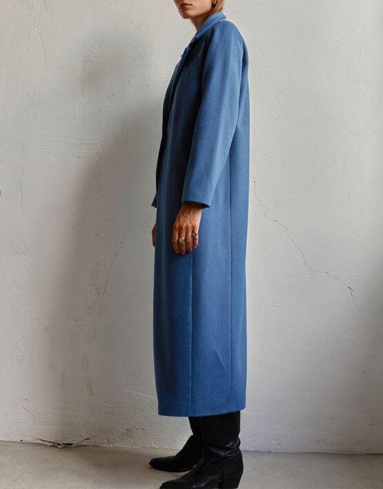 Пальто макси из шерсти AD_160720, фото 6 - в интеренет магазине KAPSULA