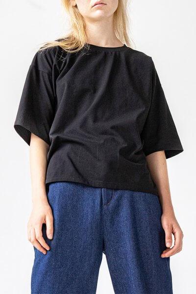 Хлопковая футболка Easy SNDR_FWE8, фото 6 - в интеренет магазине KAPSULA