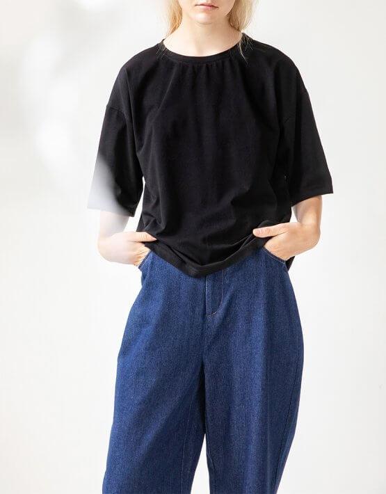 Хлопковая футболка Easy SNDR_FWE8, фото 4 - в интеренет магазине KAPSULA