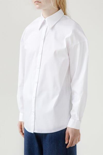 Хлопковая рубашка Easy SNDR_FWE2, фото 4 - в интеренет магазине KAPSULA