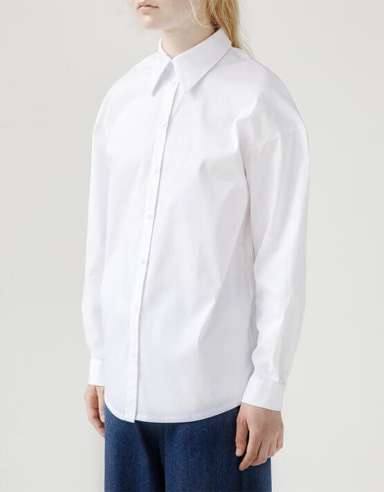 Хлопковая рубашка Easy SNDR_FWE2, фото 5 - в интеренет магазине KAPSULA