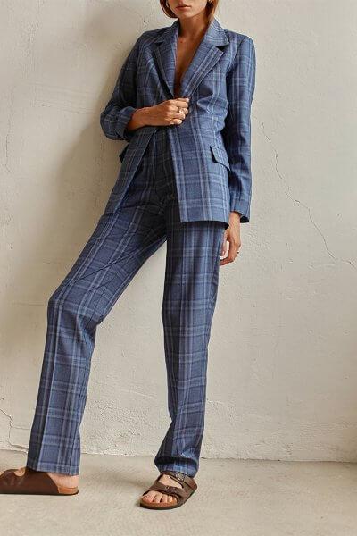 Классические брюки на высокой посадке AD_200720, фото 3 - в интеренет магазине KAPSULA