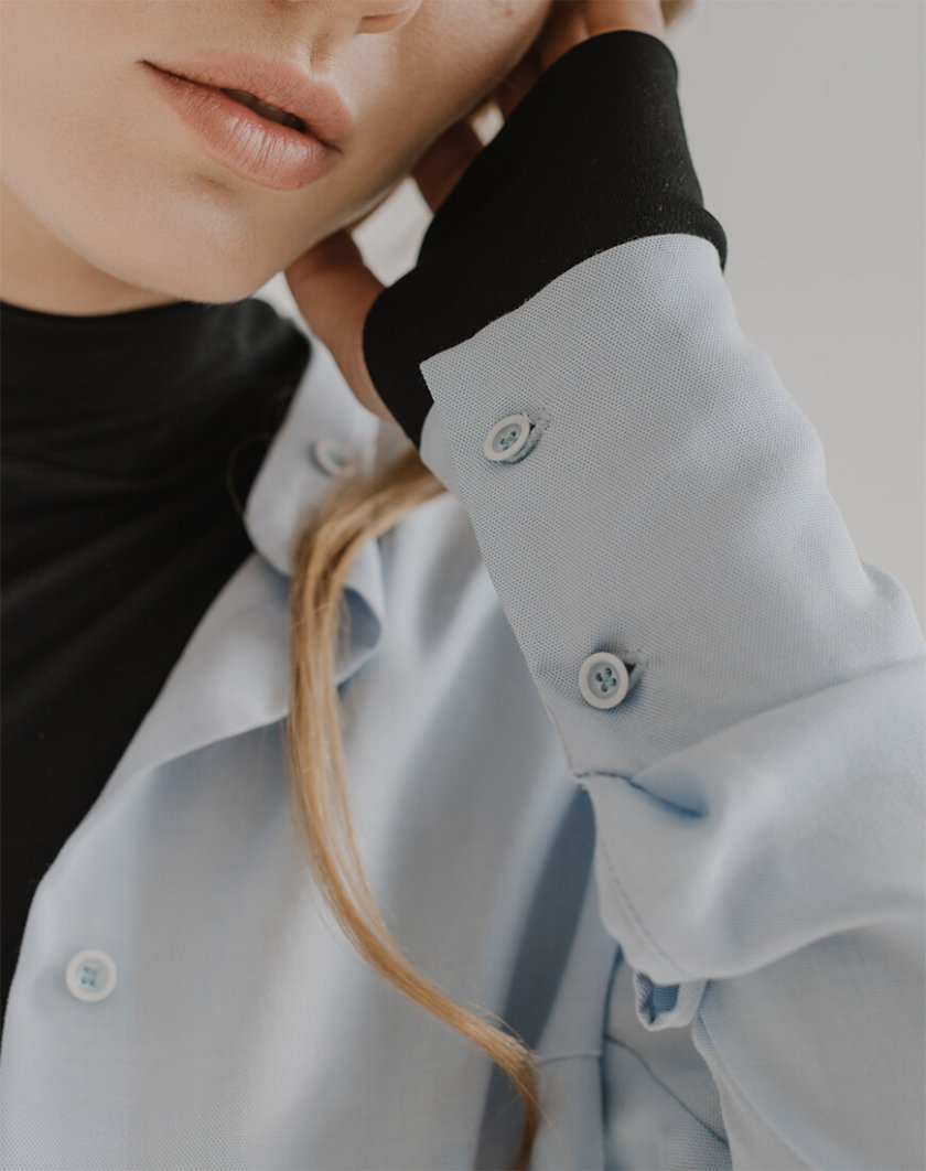 Базовая рубашка TOOJ FRM_XIM_05A_B, фото 1 - в интернет магазине KAPSULA