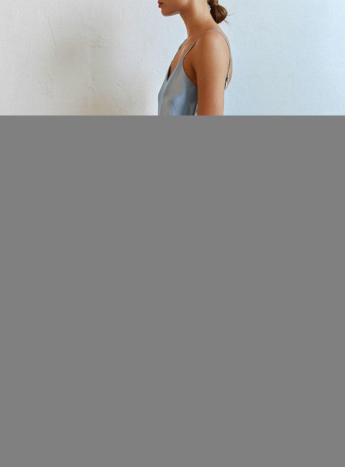 Шелковый сарафан миди AD_270720, фото 1 - в интернет магазине KAPSULA