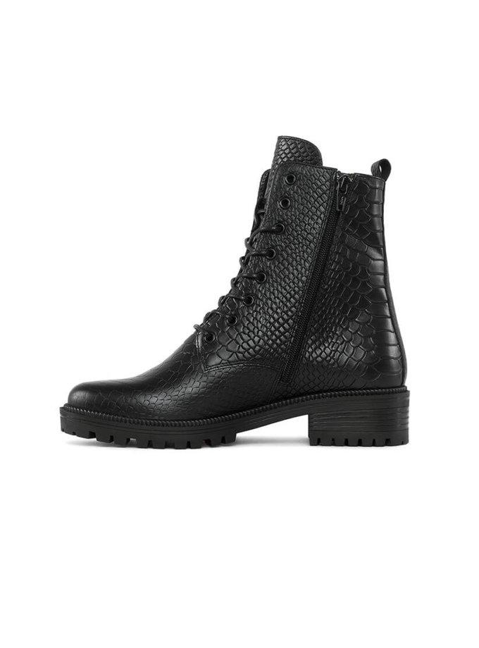 Ботинки New Burner из кожи с тиснением MRSL_533336, фото 1 - в интеренет магазине KAPSULA