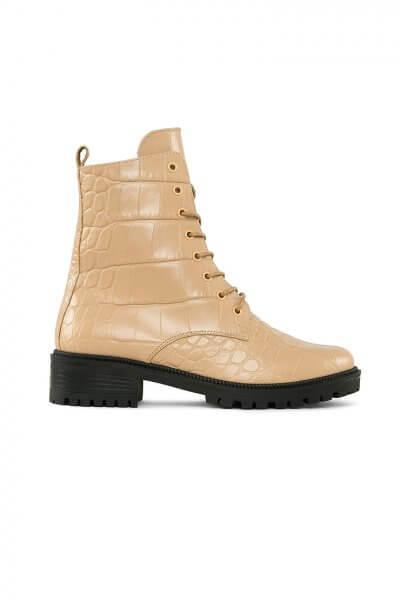 Ботинки New Burner из кожи с тиснением MRSL_533356, фото 4 - в интеренет магазине KAPSULA