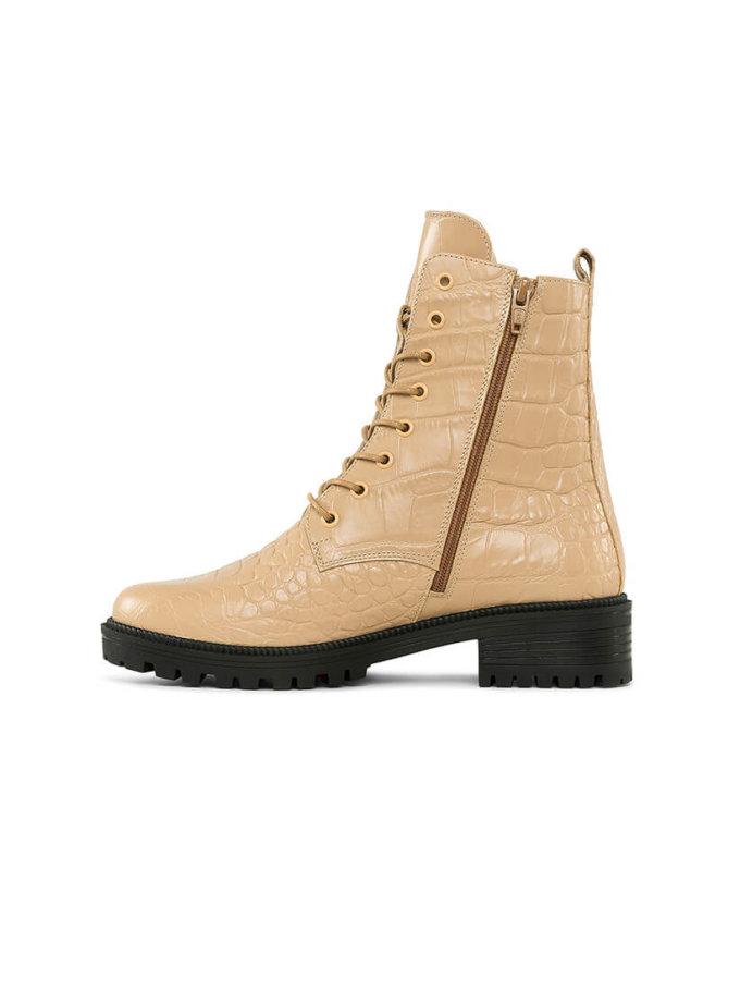 Ботинки New Burner из кожи с тиснением MRSL_533356, фото 1 - в интеренет магазине KAPSULA