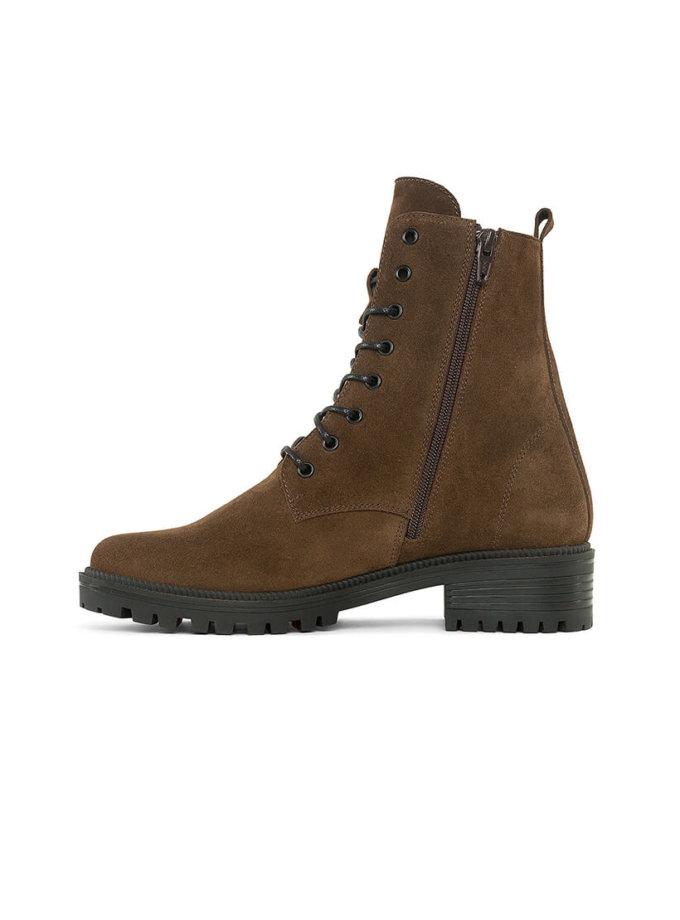 Замшевые ботинки New Burner MRSL_533376, фото 1 - в интеренет магазине KAPSULA
