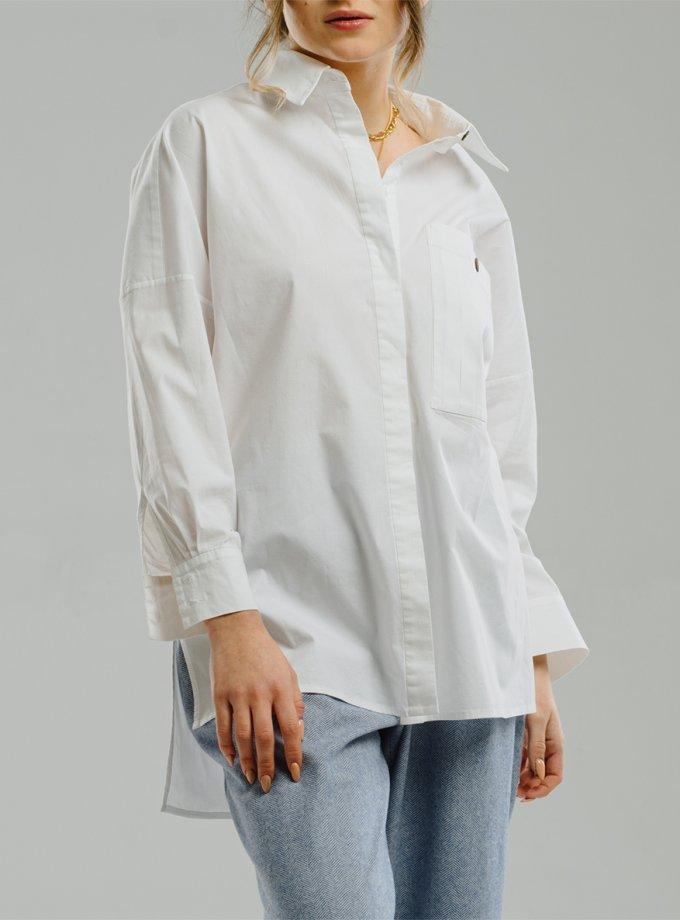 Хлопковая рубашка MNTK_MTF204, фото 1 - в интернет магазине KAPSULA