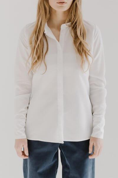 Базовая рубашка TOOJ FRM_XIM_05A_W, фото 1 - в интеренет магазине KAPSULA