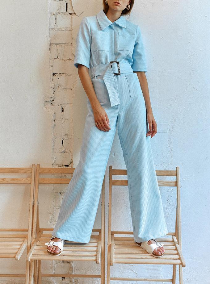 Комбинезон с накладными карманами AD_060720, фото 1 - в интеренет магазине KAPSULA