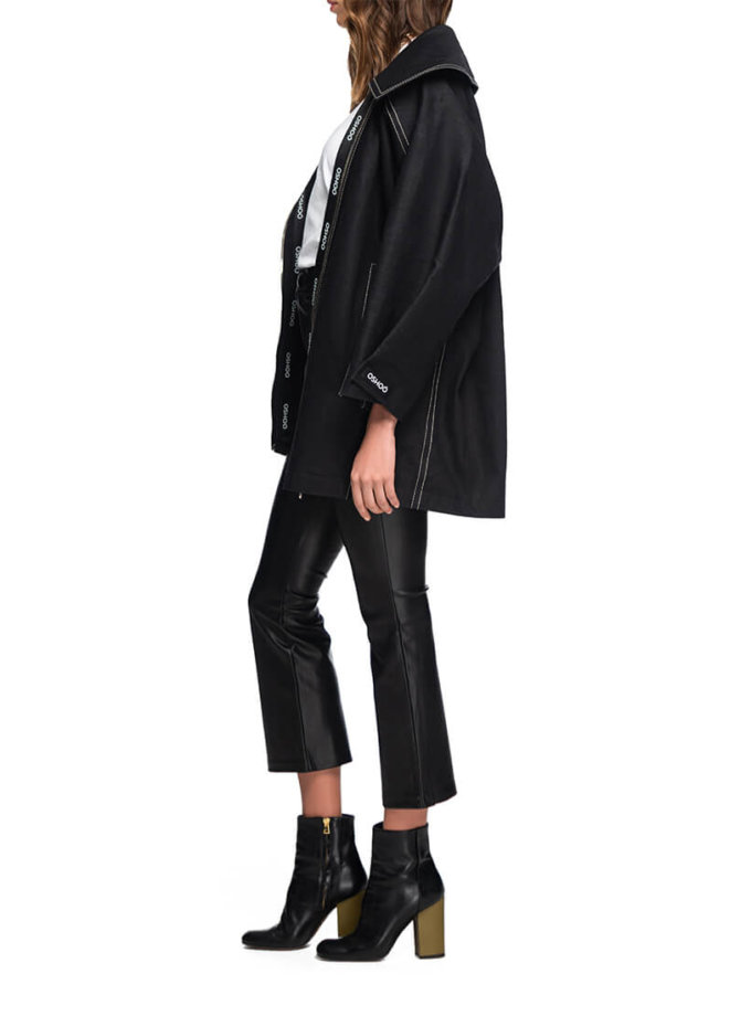 Джинсовая куртка Long OSH_DJLXS2019_01, фото 1 - в интеренет магазине KAPSULA