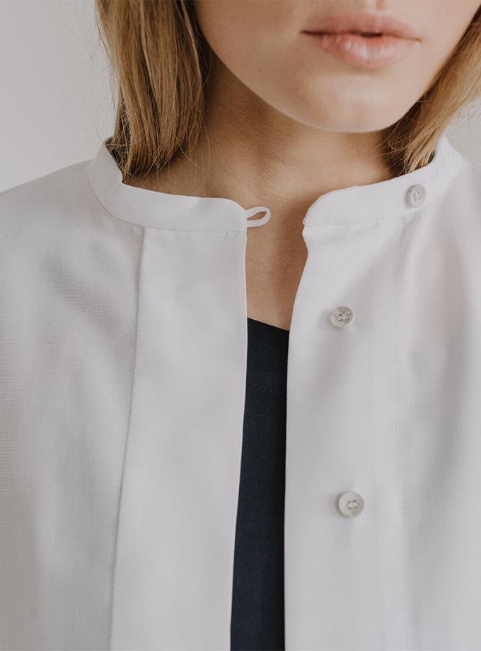 Сорочка вільного крою LUV FRM_XIM_05B_W, фото 1 - в интернет магазине KAPSULA