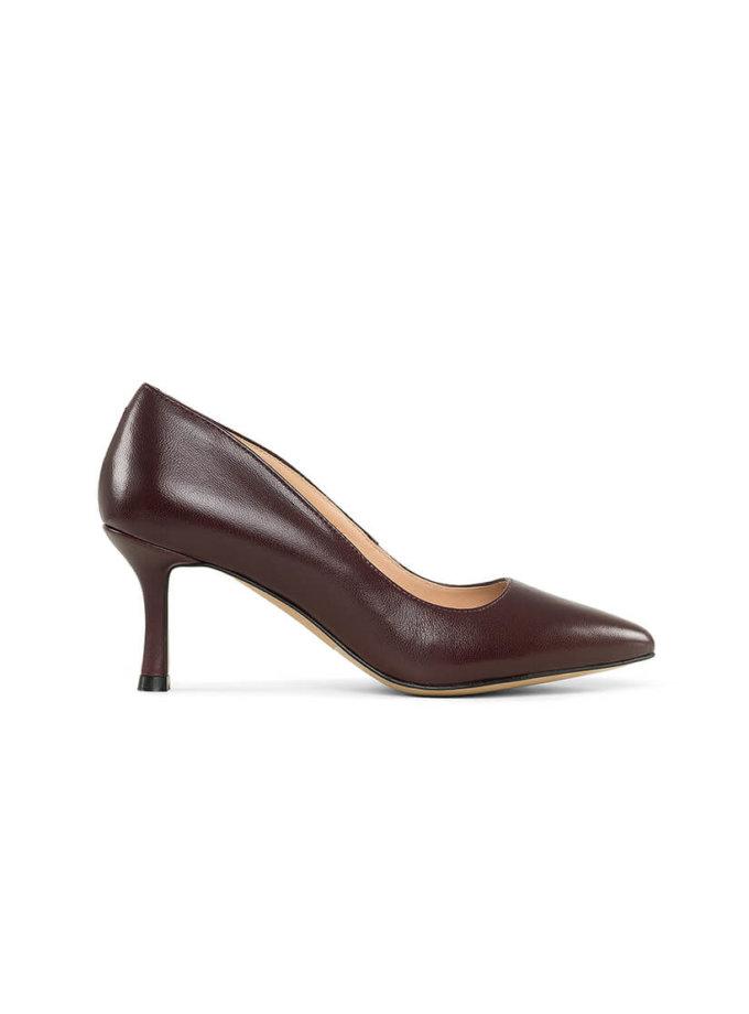 Шкіряні туфлі Hillary MRSL_621477, фото 1 - в интернет магазине KAPSULA