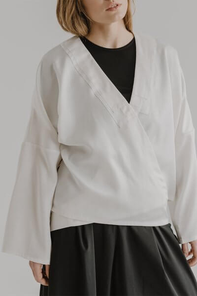 Блуза-кимоно TANG FRM_XIM_05C_I, фото 5 - в интеренет магазине KAPSULA