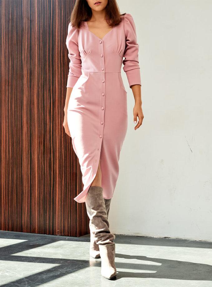 Платье с фигурным лифом KS_FW-23-23, фото 1 - в интеренет магазине KAPSULA
