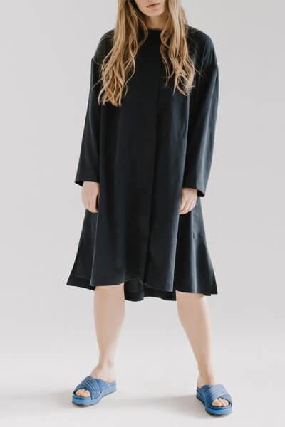 Платье свободного кроя LOOJ FRM_XIM_06A_N, фото 1 - в интеренет магазине KAPSULA