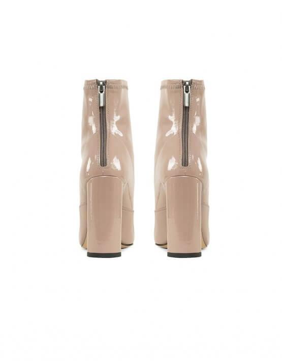 Ботинки Honey из лаковой кожи MRSL_763594, фото 4 - в интеренет магазине KAPSULA