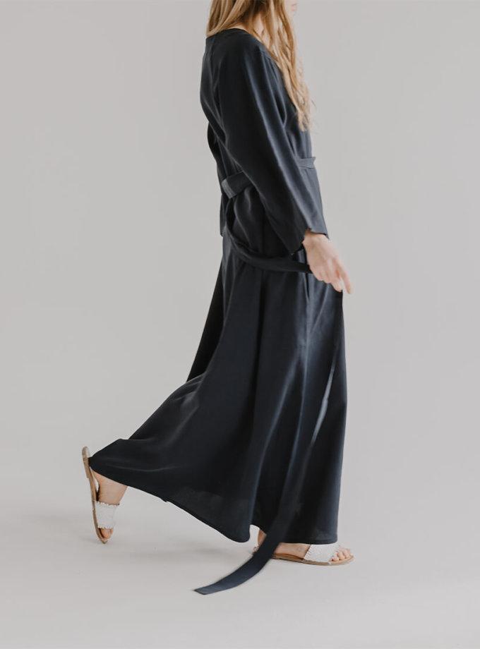 Платье макси с поясом KIAB FRM_XIM_06B_N, фото 1 - в интернет магазине KAPSULA