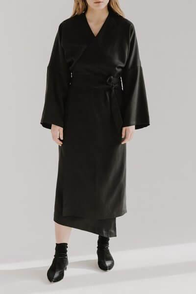 Платье на запах ZOOV FRM_XIM_06D_B, фото 1 - в интеренет магазине KAPSULA