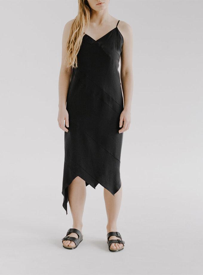 Асимметричное платье на бретелях MAIV FRM_XIM_06F_B, фото 1 - в интеренет магазине KAPSULA