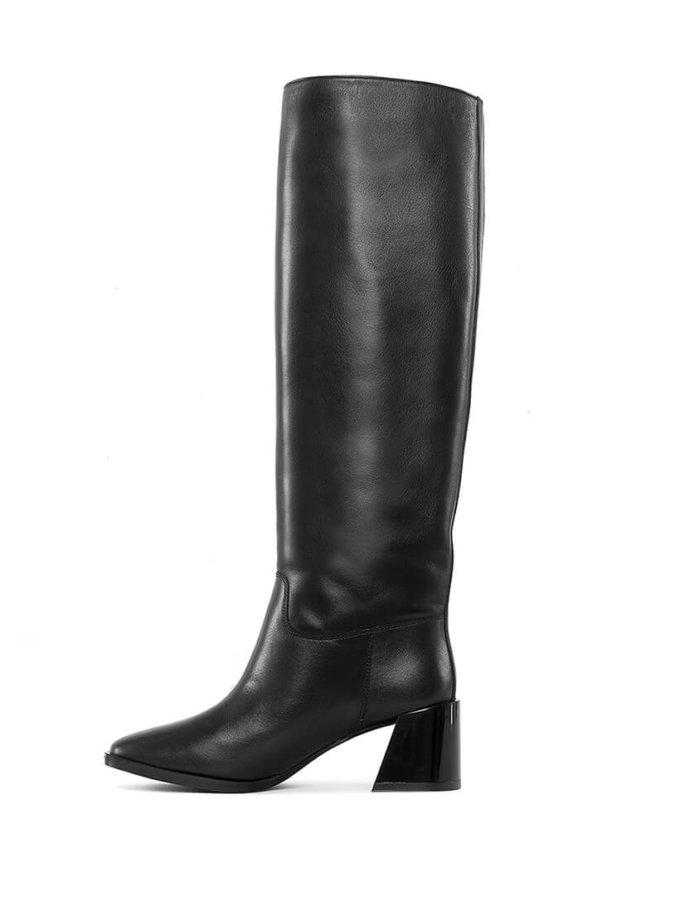 Высокие сапоги из кожи MRSL_946401, фото 1 - в интеренет магазине KAPSULA