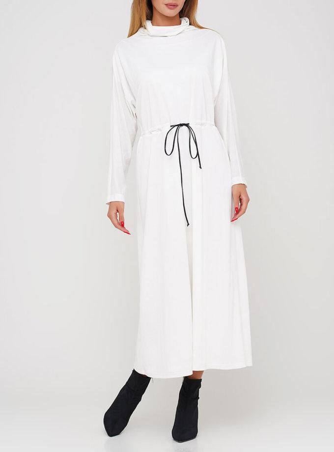 Хлопковое платье миди AY_3036, фото 1 - в интеренет магазине KAPSULA