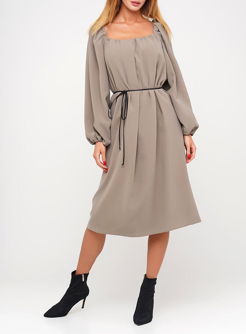 Хлопковое платье с объемными рукавами AY_3037, фото 1 - в интернет магазине KAPSULA