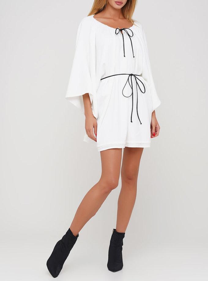 Платье мини с поясом AY_3039, фото 1 - в интеренет магазине KAPSULA